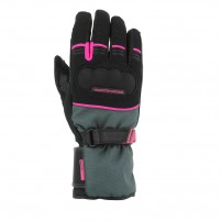 Guanti moto, V4 ACTIVE GLOVES LADY- PHONE TOUCH ROSA