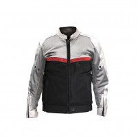 Giacche V4 Ve-51 Grey/Black/Red Jacket