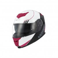 Casco Modulare, Astone RT 1200 graphic UPLINE pink/grey