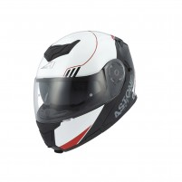 Casco Modulare, Astone RT 1200 graphic UPLINE red/white