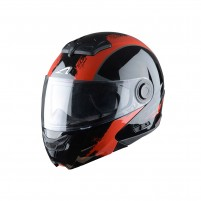 Casco Modulare, Astone RT800 graphic exclusive VENOM black red