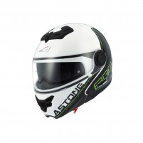 Casco Modulare, Astone RT800 graphic exclusive LINETEK green/white