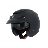 Casco Jet - Demi Jet, Astone Sportster 2 mono color matt black