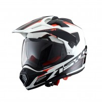 Casco Cross - Enduro, Astone CROSS TOURER GRAPHIC ADVENTURE white/black