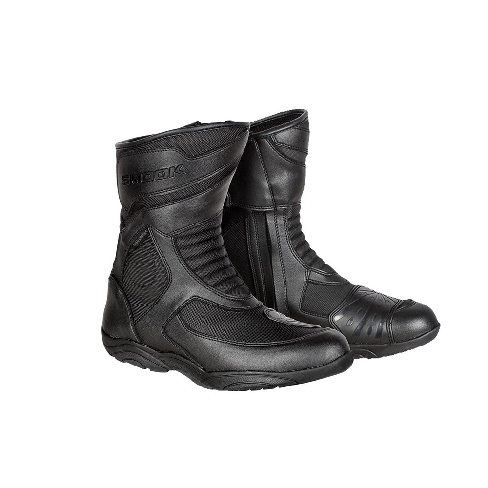 Stivale Turismo, Smook Leather Boots Nero/Nero