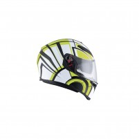Casco Integrale, AGV K-3 SV MULTI ECE2205 PLK AVIOR MATT WHITE-LIME