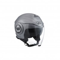 Casco Jet - Demi Jet, AGV FLUID MONO ECE2205 MATT GREY
