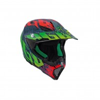 Casco Cross - Enduro, AGV AX-8 CARBON MULTI ECE2205 NOHANDER
