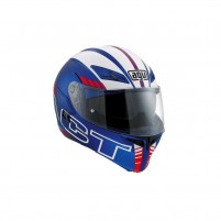 Casco Modulare, AGV COMPACT ST MULTI ECE2205 PLK SEATTLE MATT BLUE-WHITE-RED