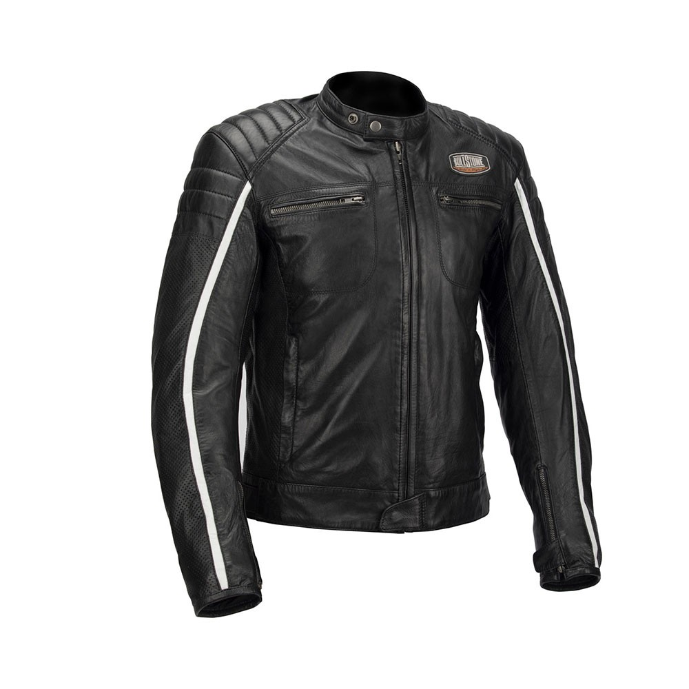 GIACCA MOTO IN PELLE BULLSTONE AIR LEATHER LADY JKT