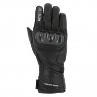 Guanti moto, V4 VIRAGE GORE TEX GLOVES MAN- PHONE TOUCH- NERO