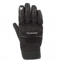 Guanti moto, V4 TRACKER GLOVES MAN - PHONE TOUCH NERO