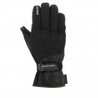 Guanti moto, V4 STEVE GORE TEX GLOVES MAN- PHONE TOUCH NERO