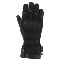Guanti moto, V4 STELLA GORE TEX GLOVES LADY- PHONE TOUCH NERO