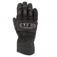 Guanti moto, V4 ARLINGTON GLOVES MAN - PHONE TOUCH NERO