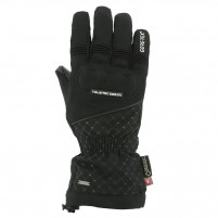 Guanti moto, V4 AZZURA GORE TEX GLOVES LADY- PHONE TOUCH- NERO