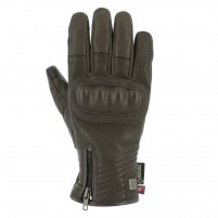 Guanti moto, V4 CAFE RACER GORE TEX GLOVES MAN- PHONE TOUCH MARRONE