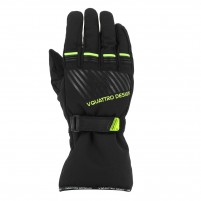Guanti moto, V4 CORE GLOVES MAN- PHONE TOUCH- NERO/GIALLO
