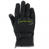 Guanti moto, V4 CORE GLOVES KID- PHONE TOUCH- NERO/VERDE