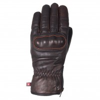 Guanti moto, V4 ETON 17 GLOVES MAN - PHONE TOUCH MARRONE