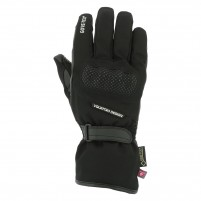 Guanti moto, V4 SCARLETT GORE TEX GLOVES LADY- PHONE TOUCH NERO