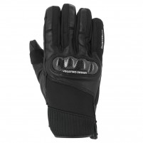 Guanti moto, V4 GP18 GLOVES MAN - PHONE TOUCH -NERO
