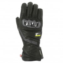 Guanti moto, V4 LAZIO GORE TEX GLOVES MAN- PHONE TOUCH NERO/REFELECTIVE
