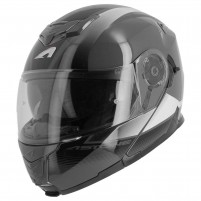Casco Modulare- Astone RT 1200 graphic VANGUARD ANTRACITE-BIANCO