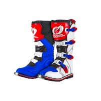 Stivale Off Road- O'NEAL RIDER Boot blu/rosso/bianco