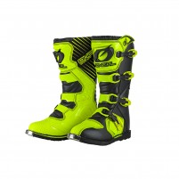 Stivale Off Road- O'NEAL RIDER Boot giallo fluo