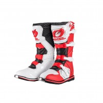 Stivale Off Road- O'NEAL RIDER Boot rosso/bianco
