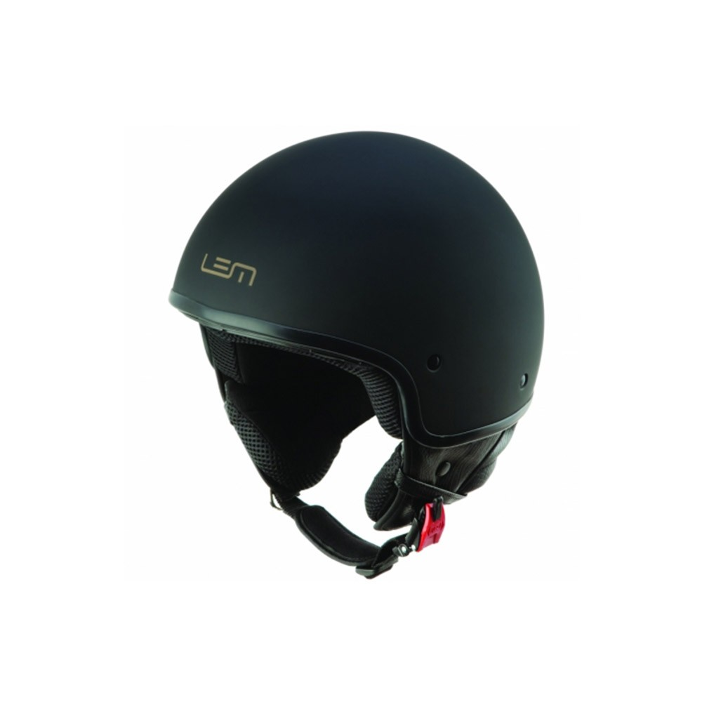 Casco Jet - Demi Jet- LEM - LUMA CUSTOM BLACK POWDER