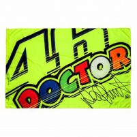 Bandiere- VR46 FLAG 46 THE DOCTOR MULTICOLORE
