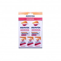 Adesivi, REPSOL RACING STICKERS MEDIUM REPSOL HONDA