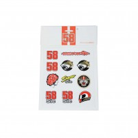Adesivi, MARCO SIMONCELLI SIC STICKERS MEDIUM