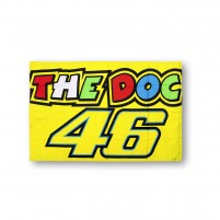 Bandiere- VR46 FLAG 46 THE DOCTOR GIALLO