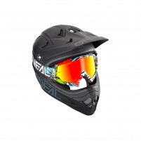 Maschere Off road- O'NEAL B-10 Goggle CRANK multi - clear