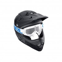 Maschere Off road- O'NEAL B-10 Youth Goggle SOLID bianco-blu