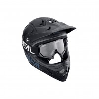 Maschere Off road- O'NEAL B-10 Youth Goggle SOLID nero-bianco