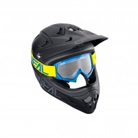 Maschere Off road- O'NEAL B-10 Youth Goggle SOLID giallo-blu