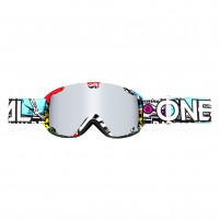 Maschere Off road- O'NEAL B-30 Youth Goggle CRANK multi - mirror silver
