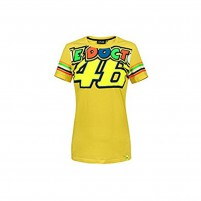 T-Shirt- VR46 T-SHIRT THE DOCTOR 46 MAN GIALLO