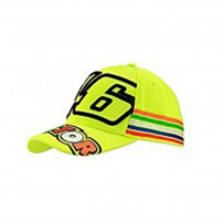 Kid- VR46 CAP 46 STRIPES BIMBO FLUO GIALLO