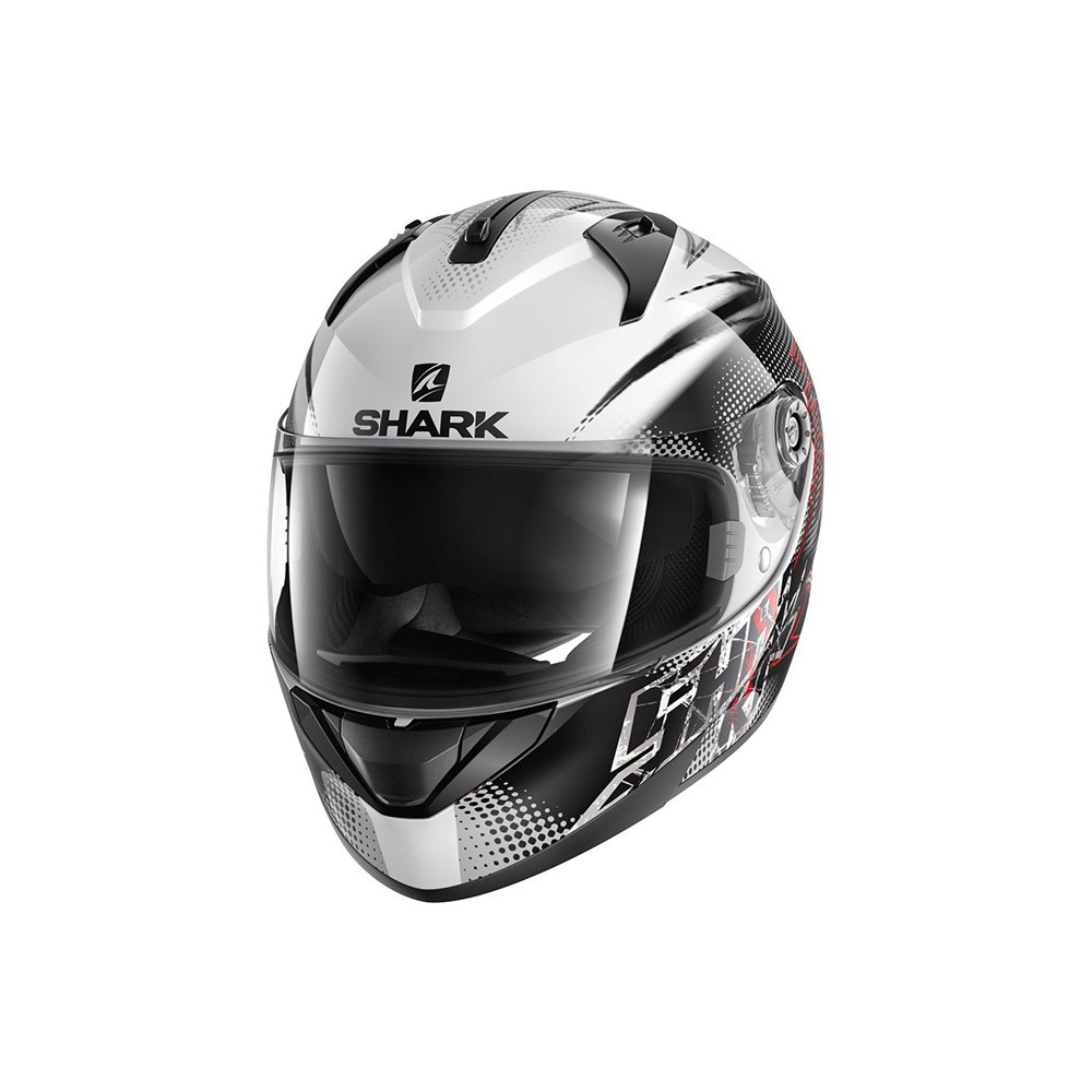 Casco Integrale, SHARK HELMETS RIDILL FINKS BIANCO-NERO