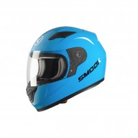 Casco Kids- SMOOK Casco FF-815 INT.KIDS Azzurro Turchese