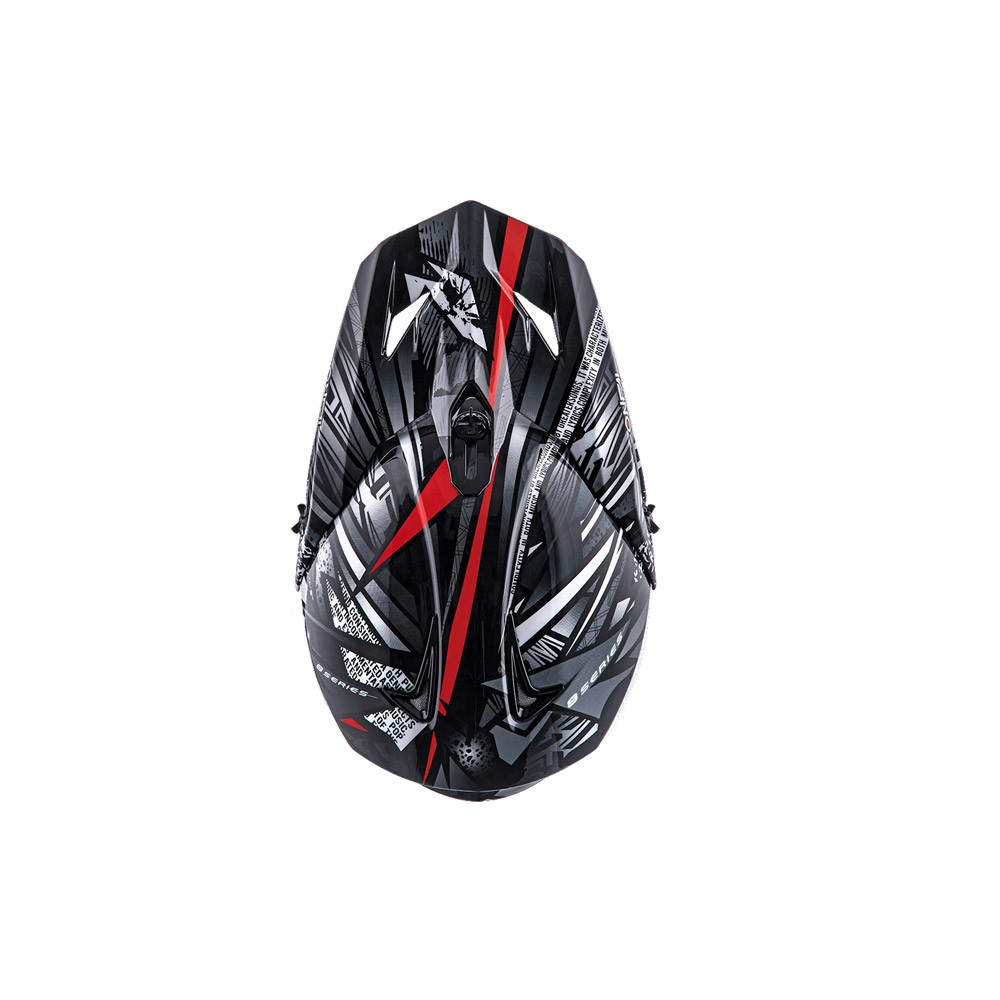 Casco Cross - Enduro- O'NEAL 8SERIES Helmet SYNTHY nero