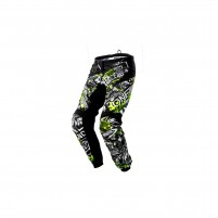 Pantaloni moto- O'NEAL ELEMENT Pants ATTACK nero/hi-viz