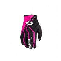 Guanti moto- O'NEAL ELEMENT Women´s Glove nero/rosa