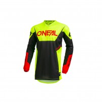 Off road- O'NEAL ELEMENT Jersey RACEWEAR neon giallo
