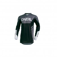 Off road- O'NEAL ELEMENT Jersey RACEWEAR nero